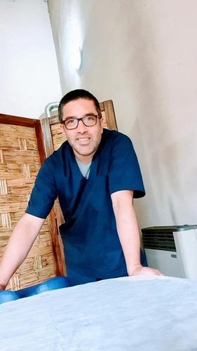 masajista,reflexologo  y auxiliar  en kinesiologia  burzaco