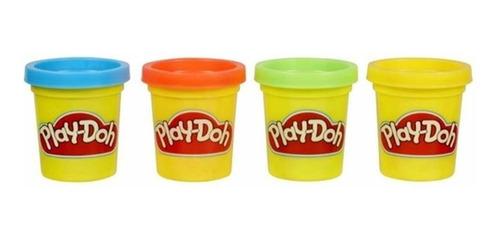 masas play-doh hasbro 23241 mini pack x4 masa edu full
