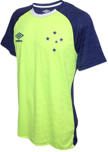 3cdfe0f3b1 Camisa Masc. Cruzeiro Aquecimento 2018 Original - R  189