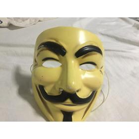 Máscara  Guy Fawkes - V De Vingança -  Anonymous