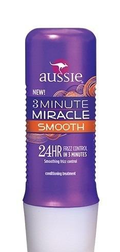 máscara 3 minutes aussie smooth 236ml