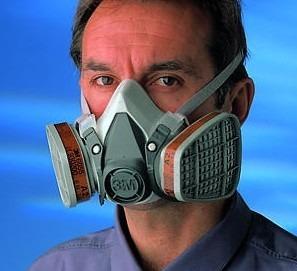 Mascara 3m con filtros contra gases y vapores quimicos - Mascarillas con filtro ...