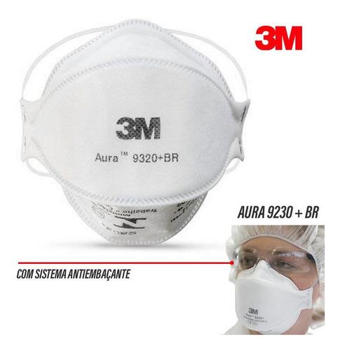 máscara 3m pff2 n95 aura 9320 prot anvisa inmetro c1 full