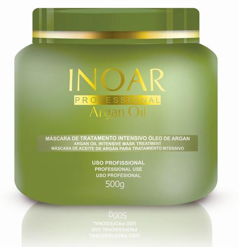 máscara 500gr argan oil inoar