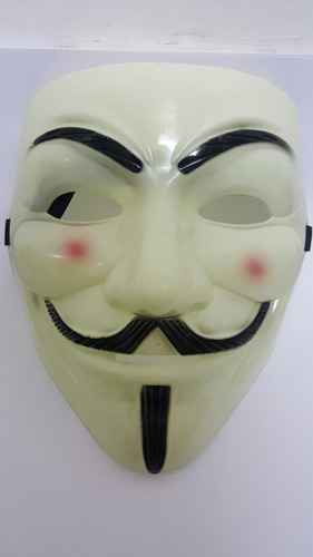 mascara anonymous anonymus v de vendetta halloween importada