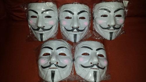 mascara anonymous v venganza vendetta disfraz halloween