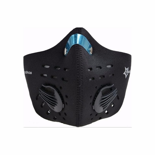 mascara anti contaminacion  ciclismo