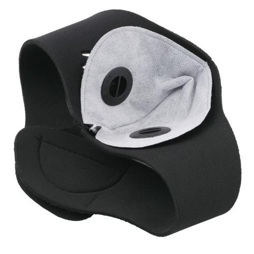 máscara anti contaminación de neopreno para exteriores