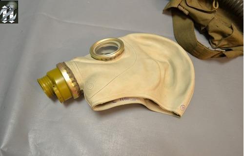 mascara anti gás nocivo- russa sovietica completa filtro gp5