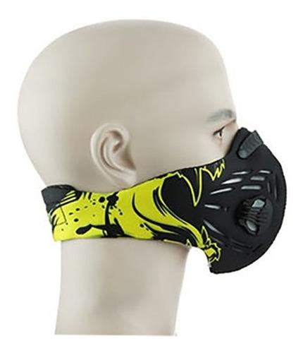 mascara anti-humo cortaviento para bicicletas pantera
