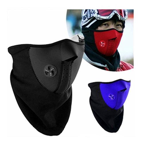 máscara antifaz de neopreno térmica deportes ciclismo 1pc