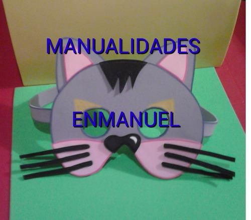 mascara antifaz en foami