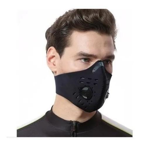 mascara antipolucion carbon activado con filtro
