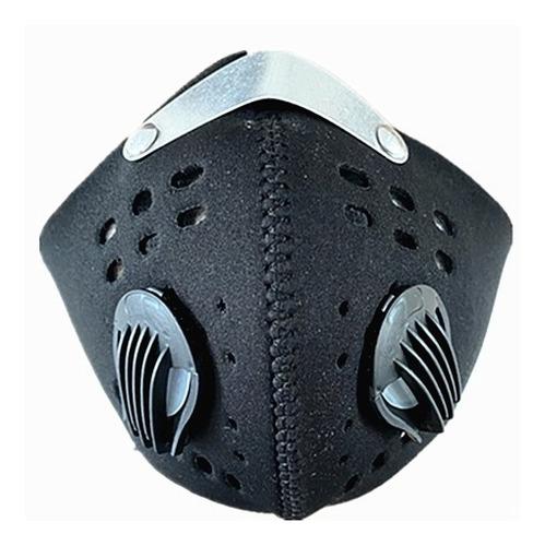 máscara antipolución moto / ciclista incluye 2 filtro gratis