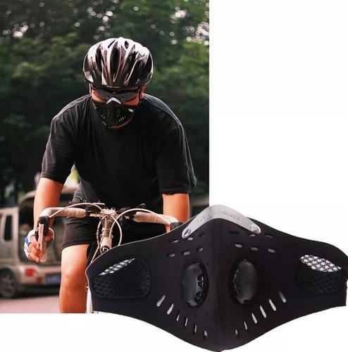 mascara antismog polvo filtro humo cortaviento training mask