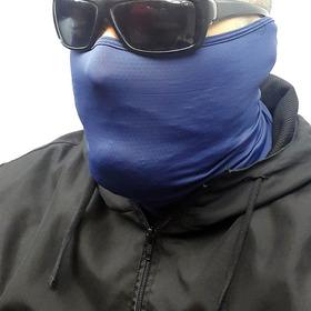 Mascara Balaclava De Poliamida Protetor Solar Bandana Touca