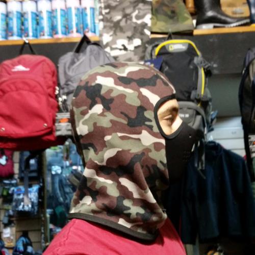 mascara balaclava pasamontañas con neoprene - abrigo - moto