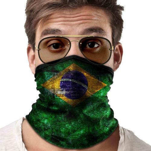 mascara bandana bandeira brasil lenço ciclismo proteção 01