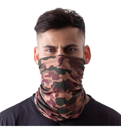 máscara bandana camuflada militar proteção ciclismo pesca