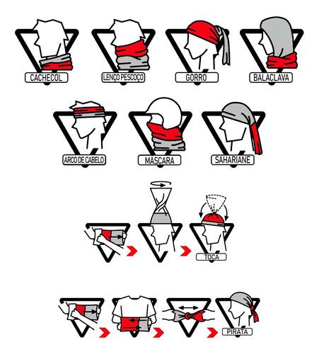 máscara bandana estados unidos eua proteção ciclismo moto