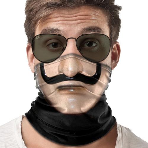 mascara bandana la casa de papel  moto ciclismo metal 001b