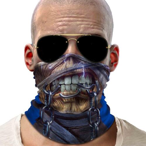 mascara bandana nao descartavel iron maiden para proteção 01