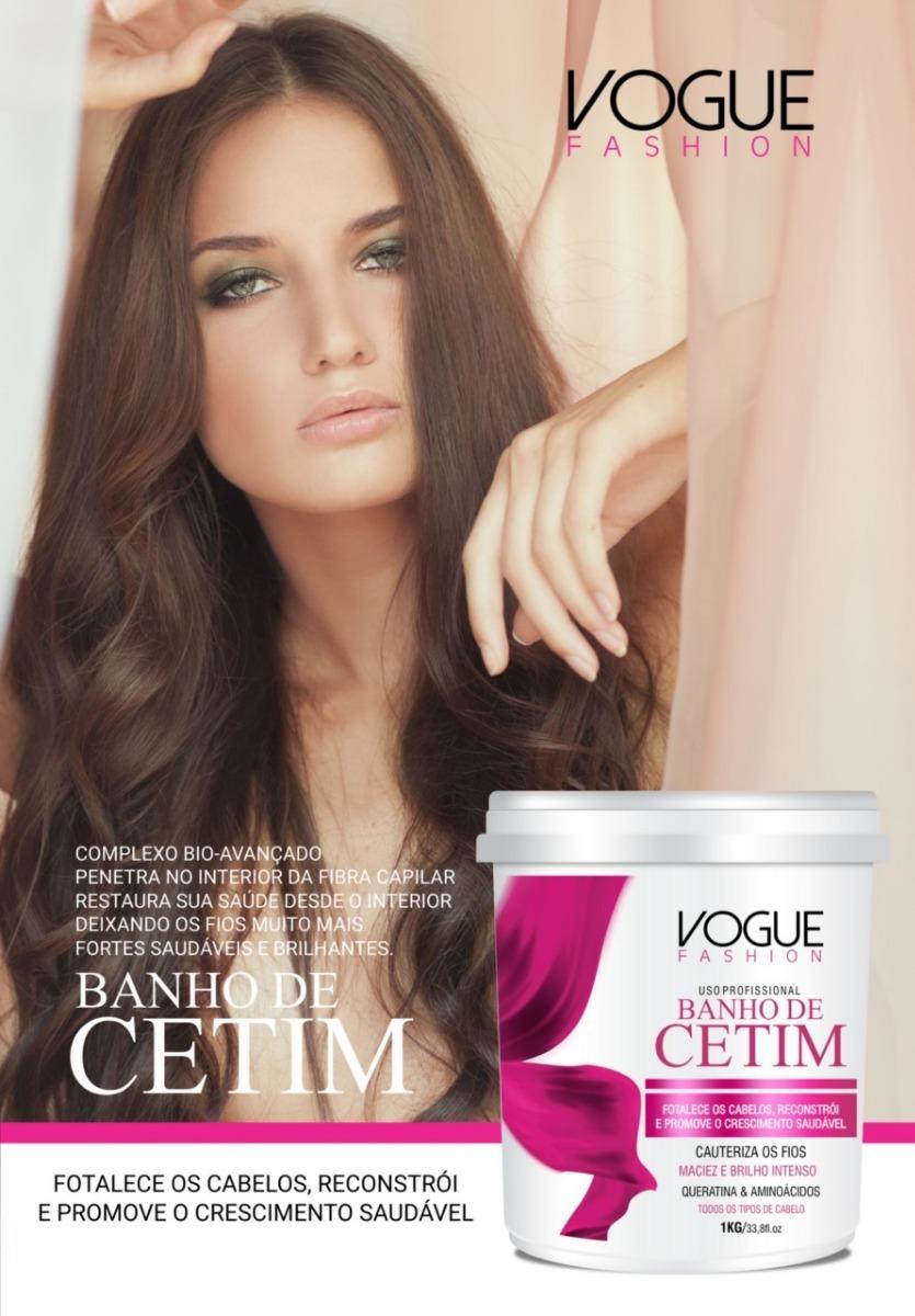 4143b1cfe077b Mascara Banho De Cetim Vogue Fashion 1kg - R  29,00 em Mercado Livre