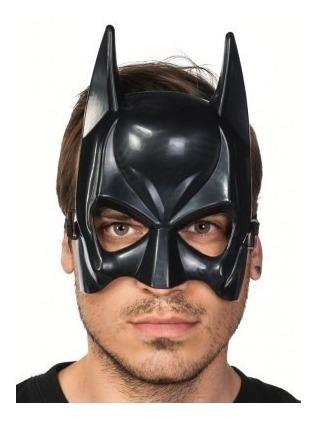 mascara batman de plastico pvc, dark knight rises, joker, dc