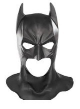 máscara batman disfraz halloween cosplay juego latex