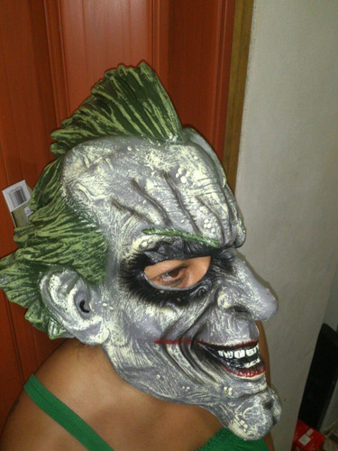 mascara batman joker  dc cosplay hallowen