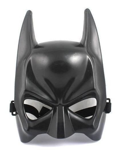 Mascara Batman Morcego Super Heroi Cosplay Fantasia Carnaval R