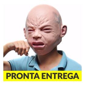 Máscara Bebê Chorando Látex - Modelo Realista