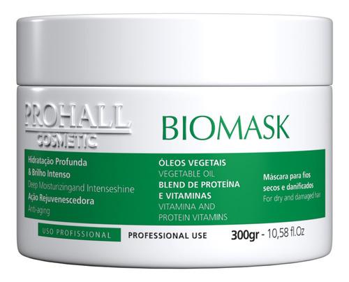 mascara biomask 300g kit de manutenção e pós química prohall