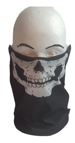 máscara bufanda bandana calavera para motociclista