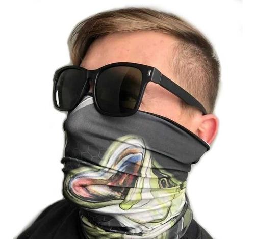 máscara buff bandana robalo pesca ciclismo esportes  uv50