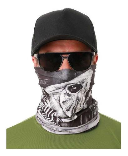 máscara buff bandana traíra pesca ciclismo esportes uv50