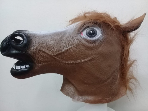 mascara caballo loco crazy horse original latex halloween