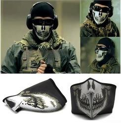mascara calavera tactico motociclista militar
