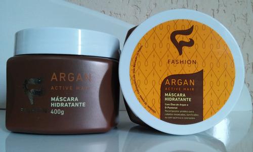 máscara capilar fashion cosméticos argan 400 g