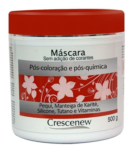 mascara capilar óleo pequi cabelo tinto tingido descolorido