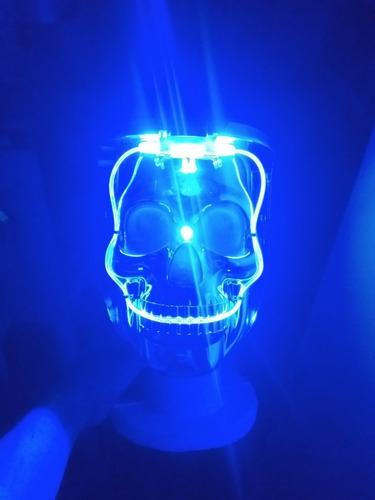 mascara careta calavera led la purga purge halloween