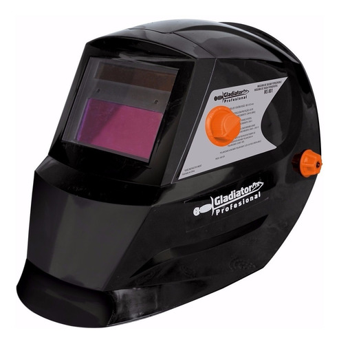 mascara careta fotosensible profesional gladiator ms801c