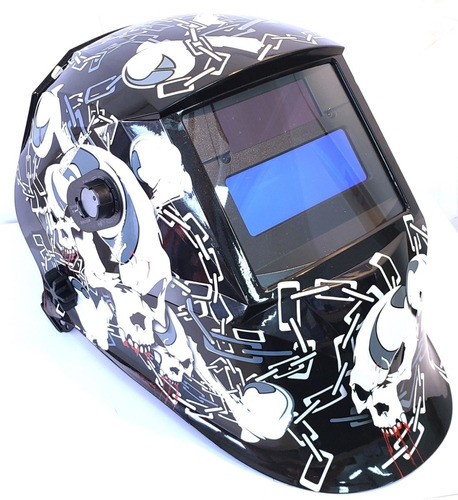 mascara careta fotosensible soldar 2 sensores profesional