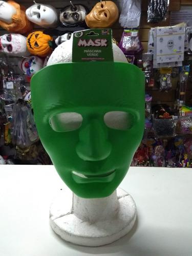 mascara careta la purga lisa varios color halloween plastica
