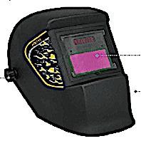 mascara careta soldar polipropileno electrónica automatica
