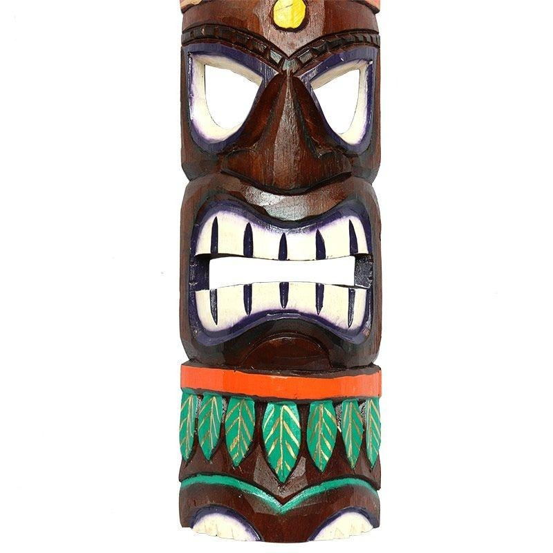 Mscara carranca decorativa totem tiki havaiano em madeira r 84 carregando zoom stopboris Images