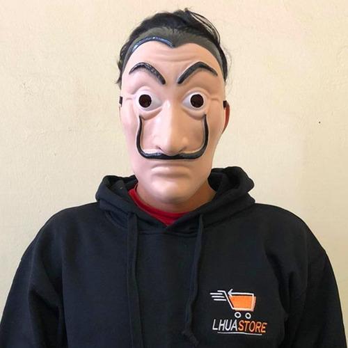 mascara casa de papel salvador dali bella ciao / lhua store