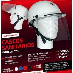 Mascara Casco Sanitario Protector Facial