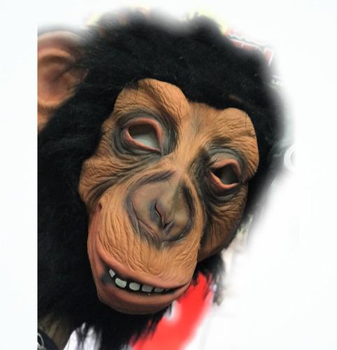 mascara chimpance - latex 100% - barata la golosineria