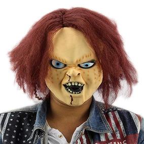 Mascara Chucky Evil Doll Child Play Horror Mask Chuky Killer